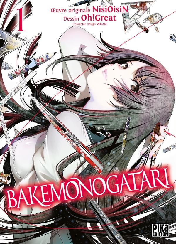 Couverture de Bakemonogatari tome 1