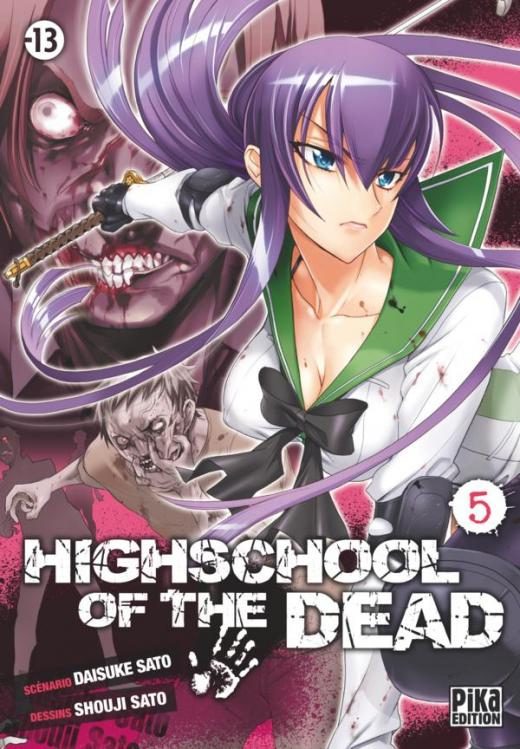 Highschool of the Dead T05