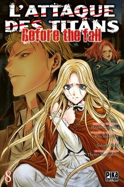 L'Attaque des Titans - Before the Fall T08